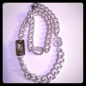 Stone wrap necklace or bracelet